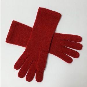 Echo Sport red knit glove